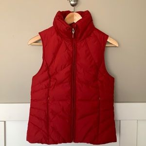Kenneth Cole Reaction Down Zip Vest Red S